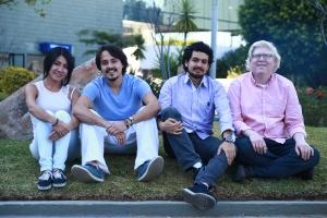 The SUNU team, from left, Fabiola Suarez, Marco Trujillo, Cuauhtli Padilla Arias and Fernando Albertorio.